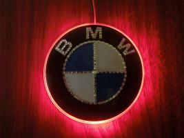 Foto 9 BMW EMBLEM Swarovski Desing veredelt(Handarbeit)mit LED
