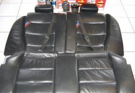 Foto 3 BMW Sitzausstattung M3 E36 Coupe Sitze Leder schwarz