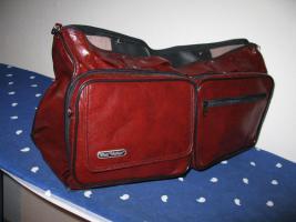Foto 2 BORDTASCHE als klappbare Reisetasche / Falttasche PRAKTISCH!