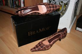 BRAMOR Sapaton Tresse Schuhe ! Hingucker :) Neu &OVP ! Etwas f�r die Lady :)