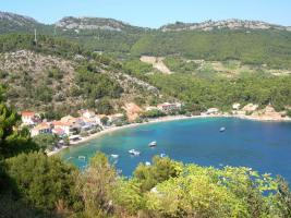 Foto 5 BUILDING LAND, FIRST ROW TO THE SEA in Trstenik, Croatia