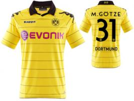 BVB Dortmund'Deutscher Meister'2011 Trikot NEU
