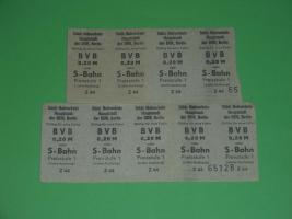 BVB - Fahrscheine