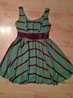 Babydoll-Kleid mit Charme der 70er Jahre von Tricia Fix Gr. 36