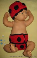 Foto 7 ***Babymützen, Häkelmützen, Baby-Sets, Fotoshooting, Geburtsgeschenk***