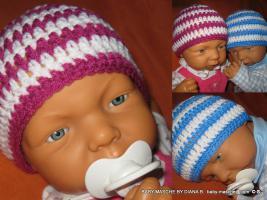 Foto 33 ***Babymützen, Häkelmützen, Baby-Sets, Fotoshooting, Geburtsgeschenk***
