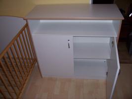 Foto 4 Babyzimmer Kinderzimmer komplett Schrank Wickelkommode Bett Regal