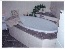Badewanne oval 180x90 Acrylweiss