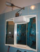 Badezimmer Spiegelschrank+unterschrank