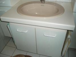 Foto 2 Badezimmermöbel  inkls.Waschbecken u. Amatur