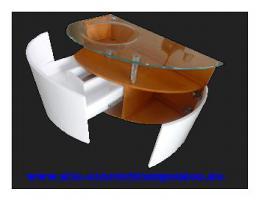Foto 2 Badschrank Glas Waschtisch Beleuchtung Badmöbel