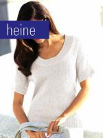 B�ndchengarnpullover - heine - vers. Gr��en 34 & (36/38) - NEU