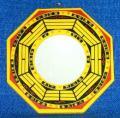 Bagua-Spiegel konkav mit Trigrammen 16 cm - NEU!!!