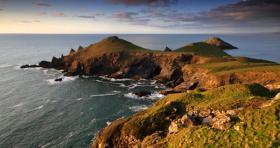 Foto 13 Balkon über dem Meer/Cornwall/Pilcher-land