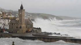 Foto 14 Balkon über dem Meer/Cornwall/Pilcher-land