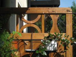 Balkon- Sichtschutz