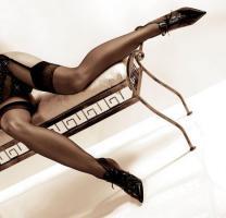 Ballerina - Elegante Str�mpfe Suzy schwarz Gr. S/M - OVP - NEU