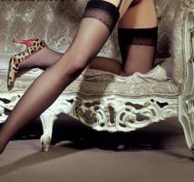 Foto 2 Ballerina - Elegante Str�mpfe Suzy schwarz Gr. S/M - OVP - NEU