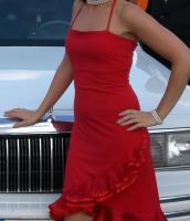 Ballkleid Hochzeitskleid Abendkleid Rot 36