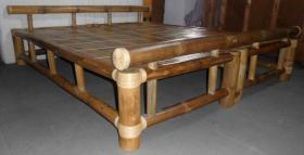Bambusbett metallfrei, Liegefläche 200cmx200cm zu verkaufen