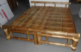 Foto 2 Bambusbett metallfrei, Liegefläche 200cmx200cm zu verkaufen