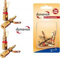 Bananenbuchse Dynavox 1 Set 4 Teile