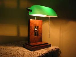 Bankierlampe Schreibtischlampe. Neu!!!