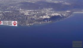 Foto 2 Banner-Flugwerbung: die effektiven himmlischen Grüße aus dem Bodenseeraum und auch deutschlandweit