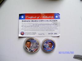 Barack Obama Coin Collection