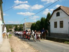 Bauernhaus im ruhigem ungarischen Dorf