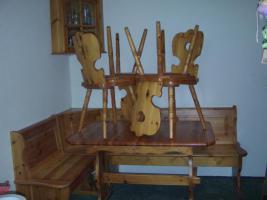 Bauernmöbel-Sitzecke