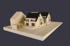 Foto 5 Baugrundstück für DHH mit Garage/Weinstadt-Strümpfelbach