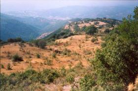 Baugrundstück nahe der Stadt Kyparissia/Griechenland