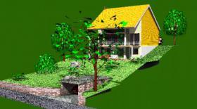 Foto 3 Baugrundstück, erschlossen in Eußerthal (SÜW)