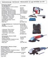 Bauwerkzeuge-Set Bohrhammer EHD900+Winkelschleifer