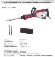Foto 2 Bauwerkzeuge-Set Bohrhammer EHD900+Winkelschleifer