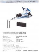 Foto 3 Bauwerkzeuge-Set Bohrhammer EHD900+Winkelschleifer