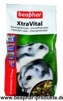 Beaphar XtraVital Futter für Zwerghamster, 500g