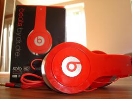 Beats by Dr.dre solo Hd Replica in rot