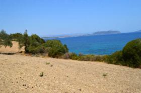 Beautiful large plot with private beach near Porto Heli/Greece