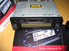Becker Indianapolis Pro 7955 mit Radio blende Din allem Zubehör u. OVP