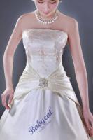Foto 2 Beiges Brautkleid