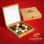 Belgische Premium-Schokolade Trüffel - Präsente von Cacaomundo