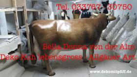 Foto 2 Bella Donna  von der Alm - Deko Kuh lebensgross