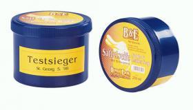 Bense&Eicke - Lederseife - Sattelseife mit Schwamm