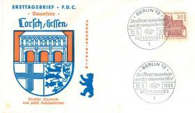 Berlin 2 Erstagsbriefe mit Nr. 244+249 wie auf Bilder zu sehen