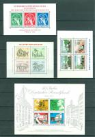 Foto 2 Berlin postfrisch Block 2-8 und Block 1 als Faksimile wie auf Bilder zu sehen, ohne Steckkarten.