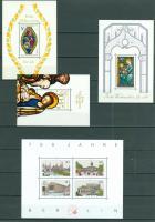 Foto 3 Berlin postfrisch Block 2-8 und Block 1 als Faksimile wie auf Bilder zu sehen, ohne Steckkarten.