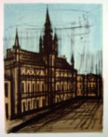 Bernard Buffet - Brussele Town-Hall