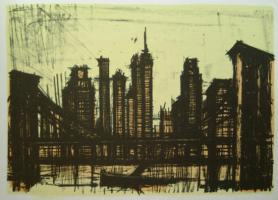 Bernard Buffet - New York VI